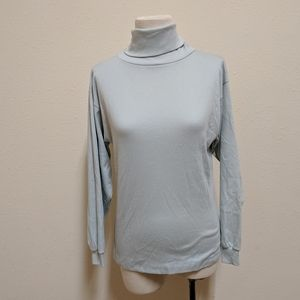 3FOR$20 Lands end turtle neck blue small